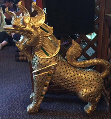 Dragon at the Thai place